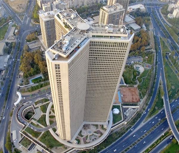 اجرای بخشی از کارهای ساختمانی برج 56 طبقه تهران