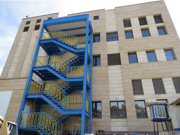 ساختمان جامدات کارخانه داروسازی الحاوی