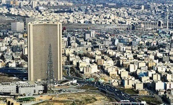 برج بین المللی 56 طبقه تهران